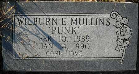 "MULLINS, WILBURN E. ""PUNK"" - Faulkner County, Arkansas | WILBURN E. ""PUNK"" MULLINS - Arkansas Gravestone Photos"