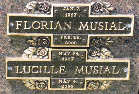 MUSIAL, LUCILLE - Faulkner County, Arkansas | LUCILLE MUSIAL - Arkansas Gravestone Photos