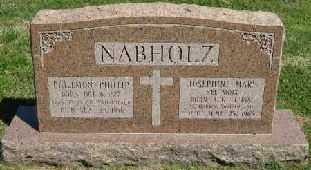 NABHOLZ, JOSEPHINE MARY - Faulkner County, Arkansas | JOSEPHINE MARY NABHOLZ - Arkansas Gravestone Photos