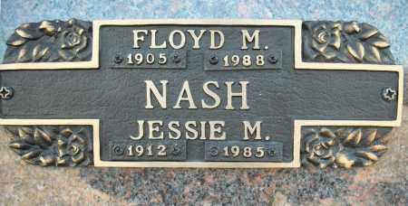NASH, FLOYD M. - Faulkner County, Arkansas | FLOYD M. NASH - Arkansas Gravestone Photos