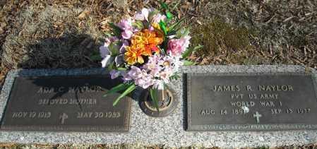 NAYLOR, JAMES R. - Faulkner County, Arkansas | JAMES R. NAYLOR - Arkansas Gravestone Photos