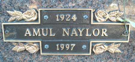 NAYLOR, AMUL - Faulkner County, Arkansas   AMUL NAYLOR - Arkansas Gravestone Photos