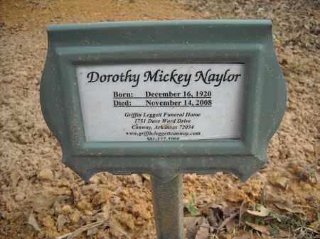NAYLOR, DOROTHY MICKEY - Faulkner County, Arkansas   DOROTHY MICKEY NAYLOR - Arkansas Gravestone Photos