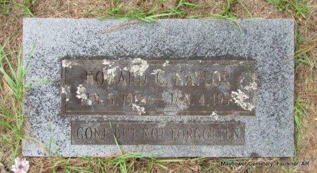 NAYLOR, HOWARD CLIFTON - Faulkner County, Arkansas   HOWARD CLIFTON NAYLOR - Arkansas Gravestone Photos