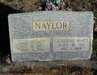 NAYLOR, CATHERINE MARIE - Faulkner County, Arkansas | CATHERINE MARIE NAYLOR - Arkansas Gravestone Photos
