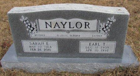 NAYLOR, SARAH ELIZABETH - Faulkner County, Arkansas | SARAH ELIZABETH NAYLOR - Arkansas Gravestone Photos
