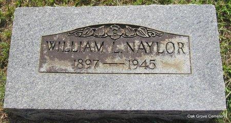 NAYLOR, WILLIAM L - Faulkner County, Arkansas | WILLIAM L NAYLOR - Arkansas Gravestone Photos