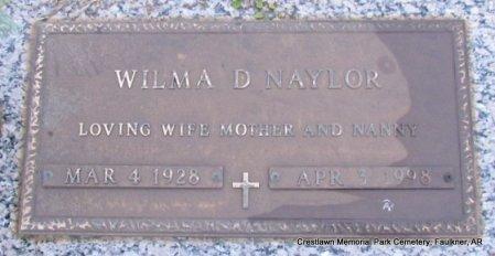 NAYLOR, WILMA DEAN - Faulkner County, Arkansas | WILMA DEAN NAYLOR - Arkansas Gravestone Photos