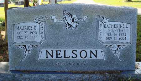 CARTER NELSON, KATHERINE L. - Faulkner County, Arkansas | KATHERINE L. CARTER NELSON - Arkansas Gravestone Photos