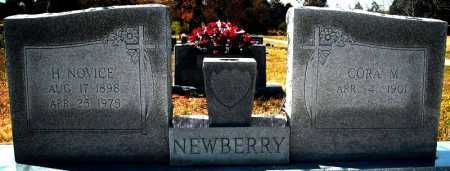 NEWBERRY, H. NOVICE - Faulkner County, Arkansas | H. NOVICE NEWBERRY - Arkansas Gravestone Photos