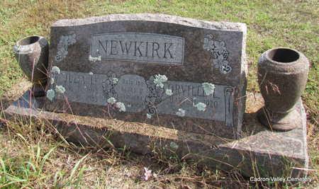 NEWKIRK (VETERAN WWII), ORVILLE L - Faulkner County, Arkansas   ORVILLE L NEWKIRK (VETERAN WWII) - Arkansas Gravestone Photos