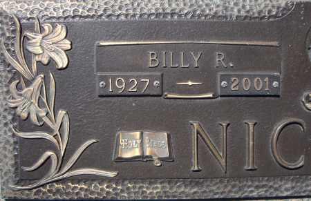 NICHOLS, BILLY R. (CLOSE UP) - Faulkner County, Arkansas   BILLY R. (CLOSE UP) NICHOLS - Arkansas Gravestone Photos