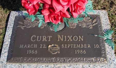 NIXON, CURT - Faulkner County, Arkansas   CURT NIXON - Arkansas Gravestone Photos