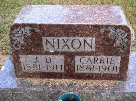 NIXON, CARRIE - Faulkner County, Arkansas | CARRIE NIXON - Arkansas Gravestone Photos