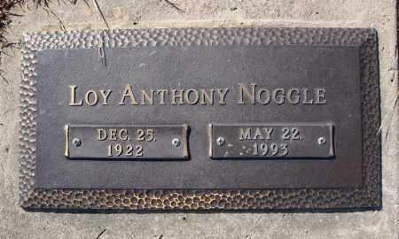 NOGGLE, LOY ANTHONY - Faulkner County, Arkansas | LOY ANTHONY NOGGLE - Arkansas Gravestone Photos