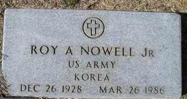 NOWELL, JR (VETERAN KOR), ROY A - Faulkner County, Arkansas | ROY A NOWELL, JR (VETERAN KOR) - Arkansas Gravestone Photos