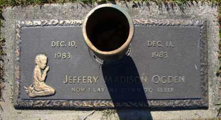 OGDEN, JEFFERY MADISON - Faulkner County, Arkansas | JEFFERY MADISON OGDEN - Arkansas Gravestone Photos