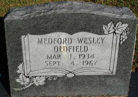 OLDFIELD, MEDFORD WESLEY - Faulkner County, Arkansas   MEDFORD WESLEY OLDFIELD - Arkansas Gravestone Photos