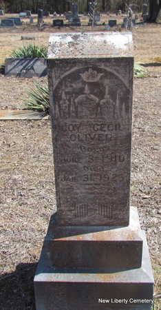 OLIVER, COY CECIL - Faulkner County, Arkansas | COY CECIL OLIVER - Arkansas Gravestone Photos