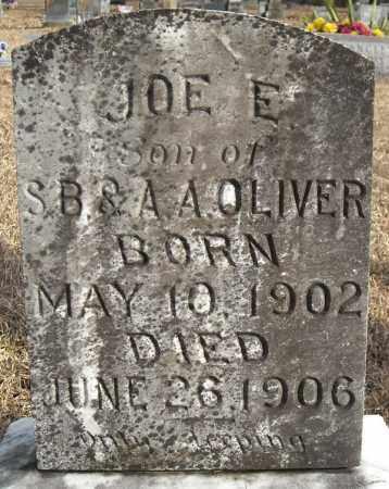 OLIVER, JOE E. - Faulkner County, Arkansas | JOE E. OLIVER - Arkansas Gravestone Photos