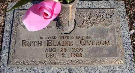 OSTROM, RUTH ELAINE - Faulkner County, Arkansas | RUTH ELAINE OSTROM - Arkansas Gravestone Photos