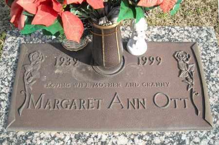 OTT, MARGARET ANN - Faulkner County, Arkansas | MARGARET ANN OTT - Arkansas Gravestone Photos