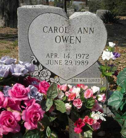 OWEN, CAROL ANN - Faulkner County, Arkansas   CAROL ANN OWEN - Arkansas Gravestone Photos