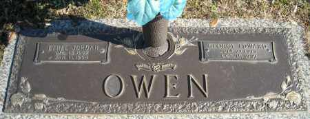 JORDAN OWEN, ETHEL - Faulkner County, Arkansas | ETHEL JORDAN OWEN - Arkansas Gravestone Photos