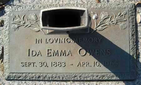 OWENS, IDA EMMA - Faulkner County, Arkansas | IDA EMMA OWENS - Arkansas Gravestone Photos