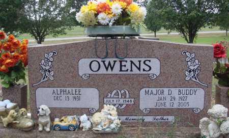 "OWENS, MAJOR D. ""BUDDY"" - Faulkner County, Arkansas | MAJOR D. ""BUDDY"" OWENS - Arkansas Gravestone Photos"
