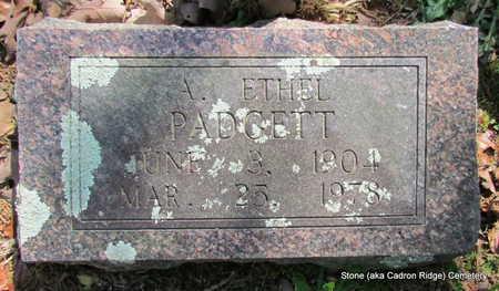 PADGETT, A. ETHEL - Faulkner County, Arkansas | A. ETHEL PADGETT - Arkansas Gravestone Photos