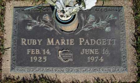 PADGETT, RUBY MARIE - Faulkner County, Arkansas | RUBY MARIE PADGETT - Arkansas Gravestone Photos