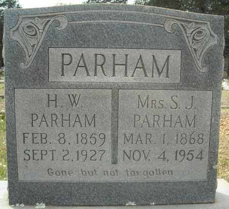 PARHAM, SARAH JANE - Faulkner County, Arkansas | SARAH JANE PARHAM - Arkansas Gravestone Photos