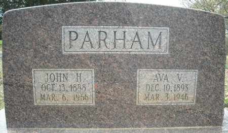 PARHAM, JOHN HORACE - Faulkner County, Arkansas | JOHN HORACE PARHAM - Arkansas Gravestone Photos