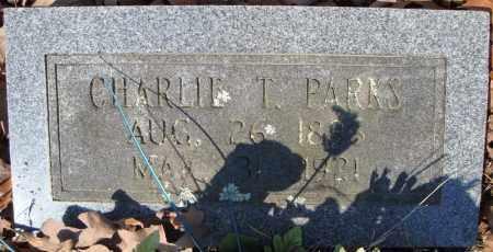 PARKS, CHARLIE T. - Faulkner County, Arkansas | CHARLIE T. PARKS - Arkansas Gravestone Photos