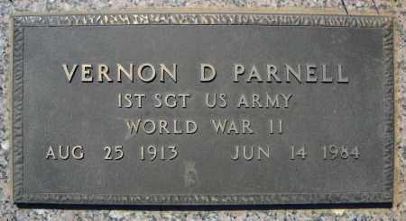 PARNELL (VETERAN WWII), VERNON D - Faulkner County, Arkansas   VERNON D PARNELL (VETERAN WWII) - Arkansas Gravestone Photos
