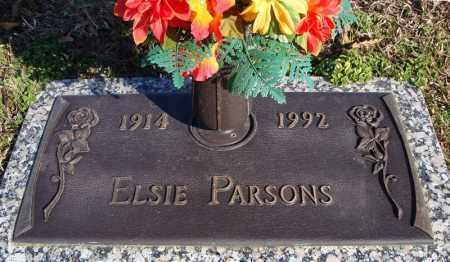 PARSONS, ELSIE - Faulkner County, Arkansas   ELSIE PARSONS - Arkansas Gravestone Photos