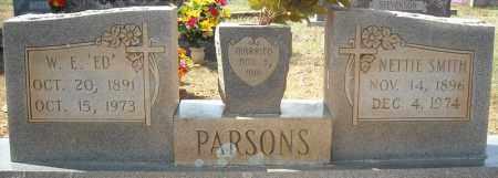 "PARSONS, WILLIAM EDWARD ""ED"" - Faulkner County, Arkansas | WILLIAM EDWARD ""ED"" PARSONS - Arkansas Gravestone Photos"