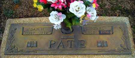 PATE, DAN H. - Faulkner County, Arkansas | DAN H. PATE - Arkansas Gravestone Photos