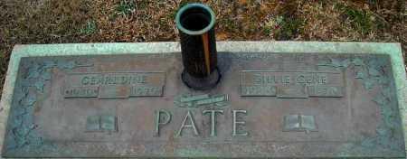 PATE, GEARLDINE - Faulkner County, Arkansas | GEARLDINE PATE - Arkansas Gravestone Photos