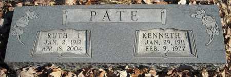 PATE, KENNETH I. - Faulkner County, Arkansas | KENNETH I. PATE - Arkansas Gravestone Photos
