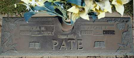 PATE, ARCHIE E. - Faulkner County, Arkansas | ARCHIE E. PATE - Arkansas Gravestone Photos