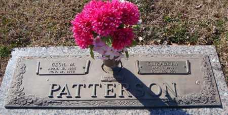 PATTERSON, ELIZABETH - Faulkner County, Arkansas | ELIZABETH PATTERSON - Arkansas Gravestone Photos