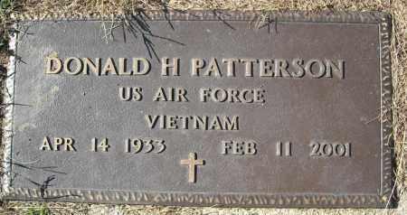PATTERSON (VETERAN VIET), DONALD H - Faulkner County, Arkansas | DONALD H PATTERSON (VETERAN VIET) - Arkansas Gravestone Photos