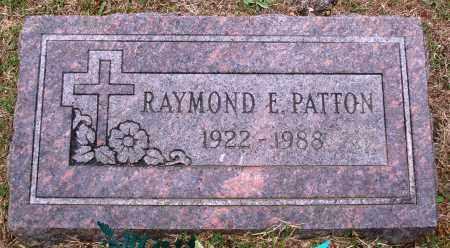 PATTON, RAYMOND E. - Faulkner County, Arkansas   RAYMOND E. PATTON - Arkansas Gravestone Photos