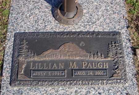 PAUGH, LILLIAN M. - Faulkner County, Arkansas | LILLIAN M. PAUGH - Arkansas Gravestone Photos