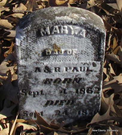 PAUL, MARY A. - Faulkner County, Arkansas   MARY A. PAUL - Arkansas Gravestone Photos