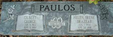 PAULOS, HELEN IRENE - Faulkner County, Arkansas | HELEN IRENE PAULOS - Arkansas Gravestone Photos