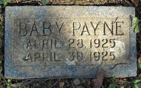 PAYNE, BABY - Faulkner County, Arkansas | BABY PAYNE - Arkansas Gravestone Photos