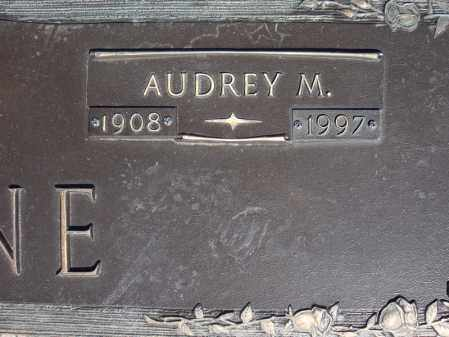 PAYNE, AUDREY M. (CLOSE UP) - Faulkner County, Arkansas | AUDREY M. (CLOSE UP) PAYNE - Arkansas Gravestone Photos